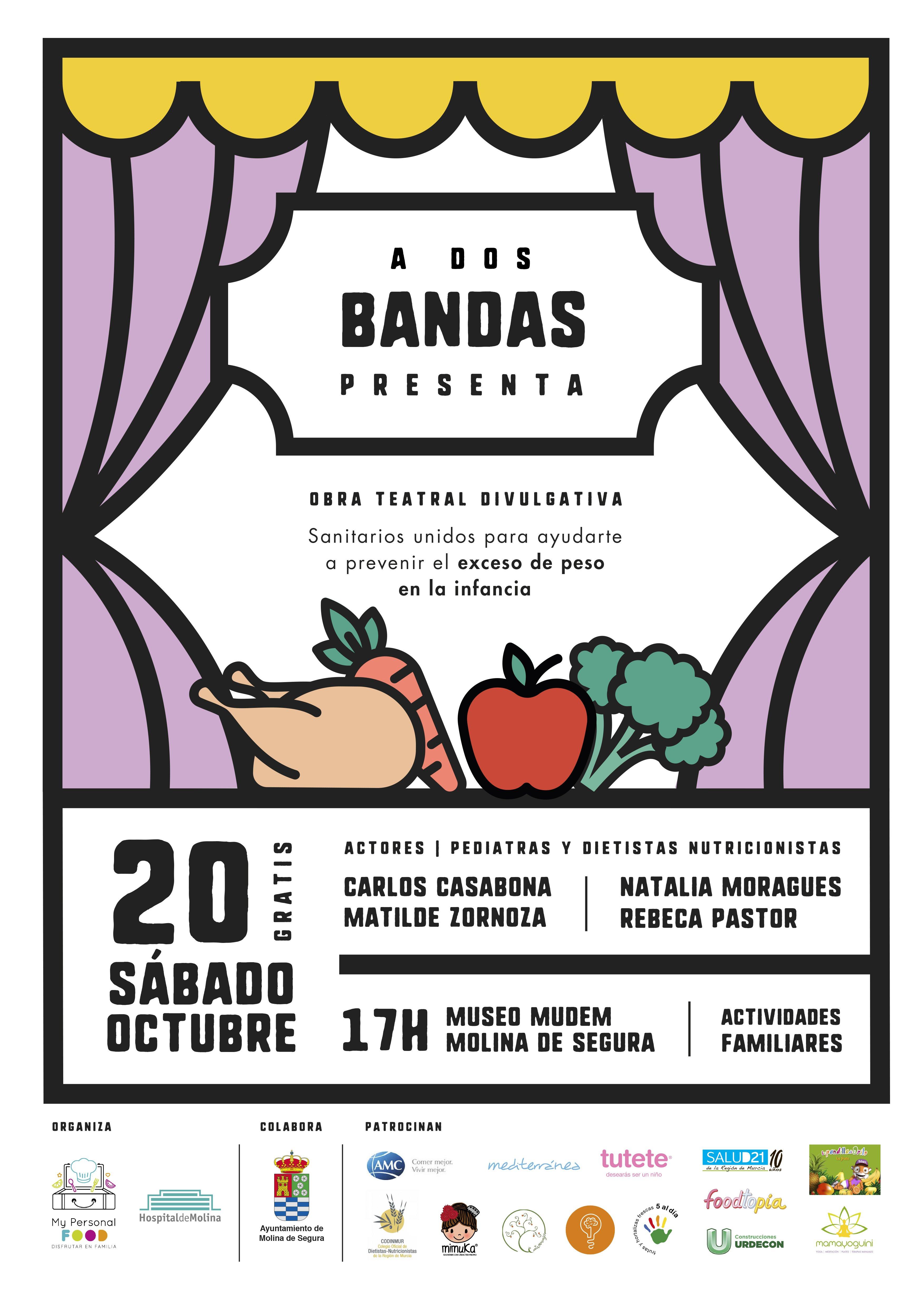#ADosBandas: Family Evento Saludable para este finde en Molina de Segura